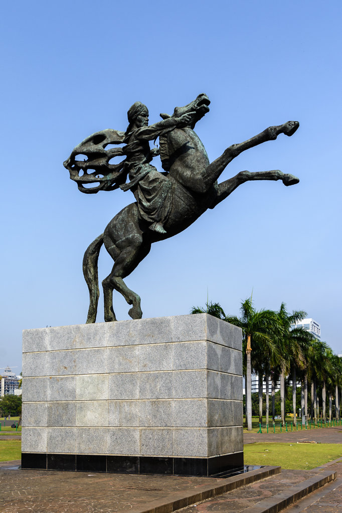 Statue of Prince Diponegoro