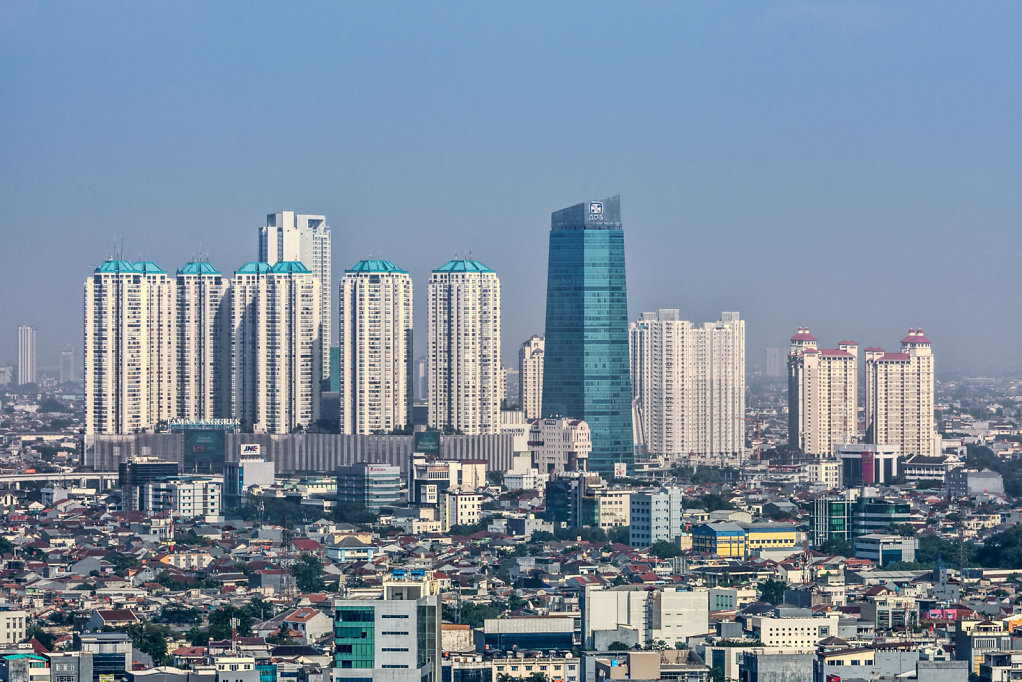Skyline of Tamman Anggrek and Central Park