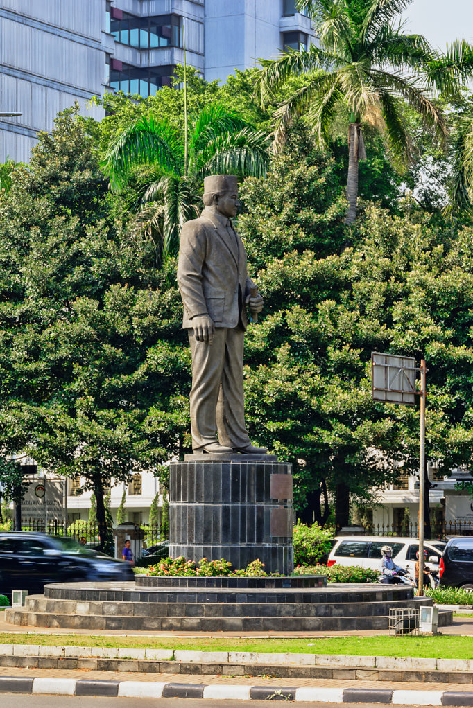 The Statue of Mohammad Husni Thamrin